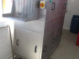 Korbspülmaschine für Dielen/Kisten/Körbe/Behälter