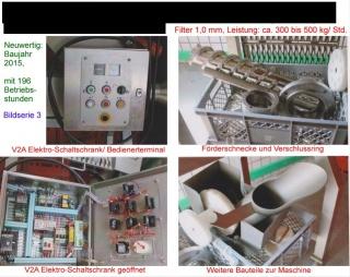 Separator LIMA Modell RM 80 DDS