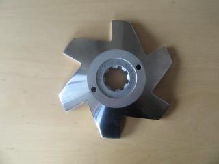 INOTEC - GŁOWICA NOŻA DO KUTRA PRZELOTOWEGO I225 mm Nr kat. I2250039048